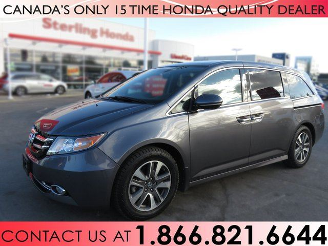 2016 Honda Odyssey TOURING | NAVIGATION | REAR DVD PLAYER in Hamilton, Ontario