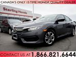 2016 Honda Civic LX | 1 OWNER | NO ACCIDENTS in Hamilton, Ontario