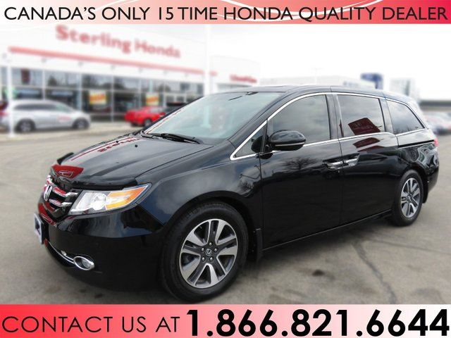 2016 Honda Odyssey TOURING | NO ACCIDENTS | NAVIGATION | DVD PLAYER in Hamilton, Ontario