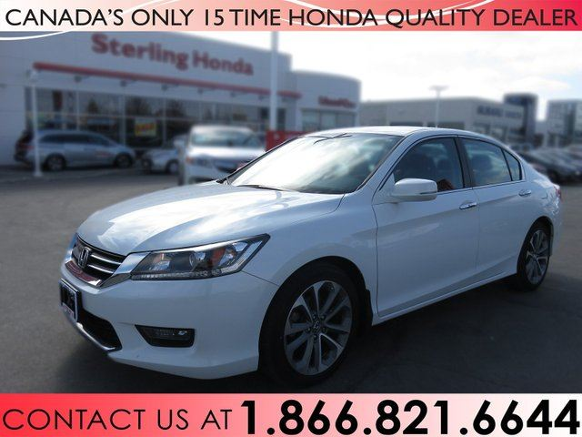 2014 Honda Accord SPORT | 1 OWNER | NO ACCIDENTS | ALL WEATHER MATS in Hamilton, Ontario