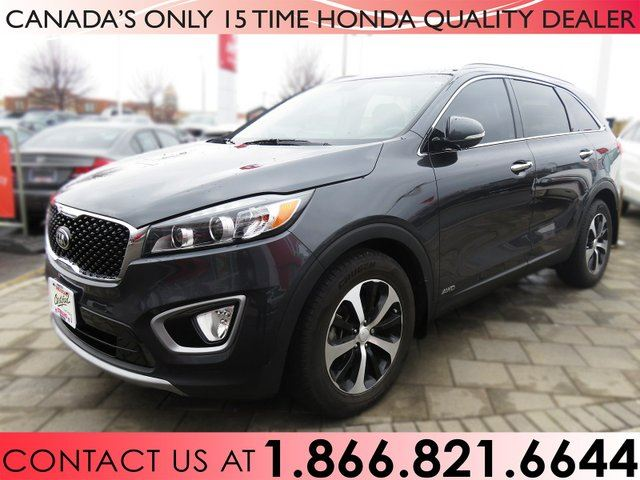 2016 Kia Sorento EX | REMOTE STARTER | 7 PASSENGER | LOW KM'S | 1 OWNER | NO ACCIDENTS in Hamilton, Ontario