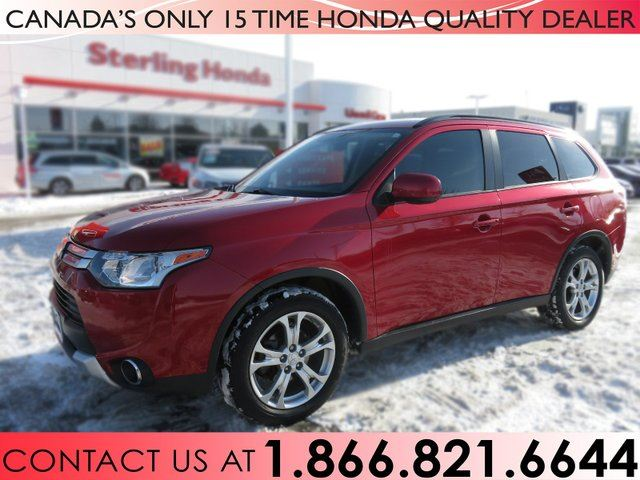 2015 Mitsubishi Outlander ES | 4WD | WINTER TIRES | LEATHER in Hamilton, Ontario