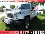 2017 Jeep Wrangler Unlimited SAHARA 4x4 | NO ACCIDENTS | LOW KM'S | NAVIGATION | LEATHER in Hamilton, Ontario