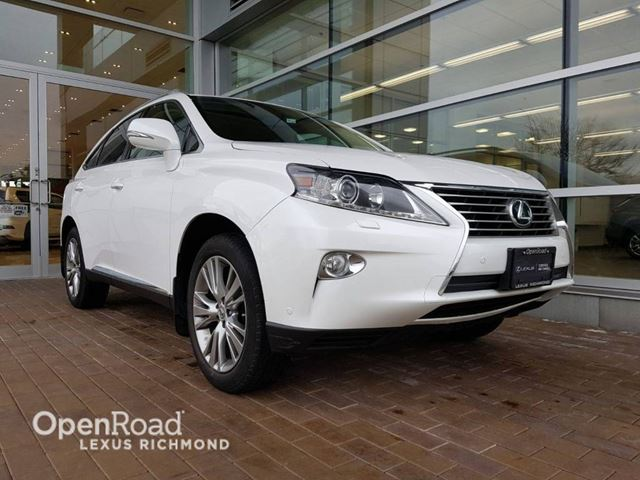 2014 LEXUS RX 350 Technology pkg.- One Owner in Richmond, British Columbia