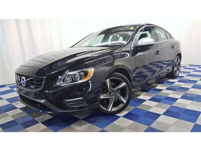 2015 VOLVO S60 T6 R-Design Platinum/BEST DEAL IN CANADA/LOADED in Winnipeg, Manitoba