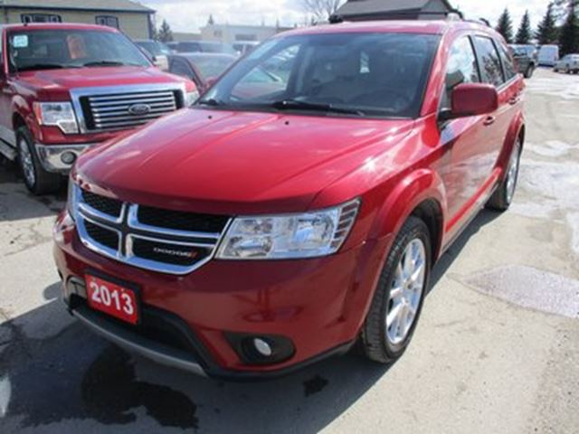 2013 Dodge Journey LOADED CREW EDITION 5 PASSENGER 3.6L - V6.. HEA in Bradford, Ontario