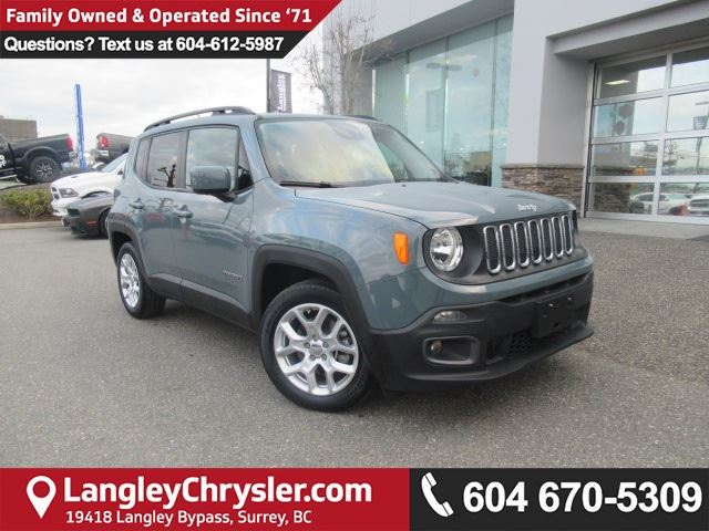 2016 JEEP Renegade North in Surrey, British Columbia