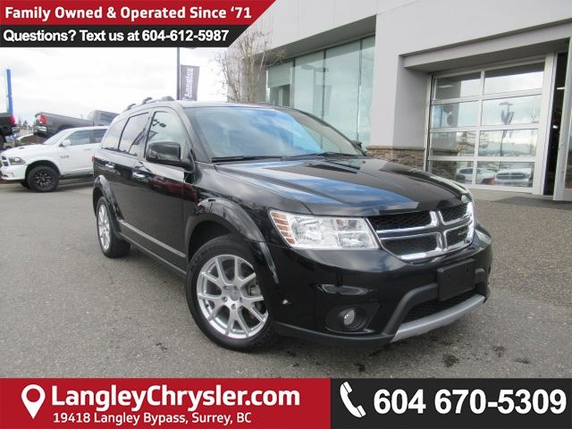 2017 DODGE JOURNEY GT <b>*AWD*DVD*Navigation and Backup Camera Group*<b> in Surrey, British Columbia