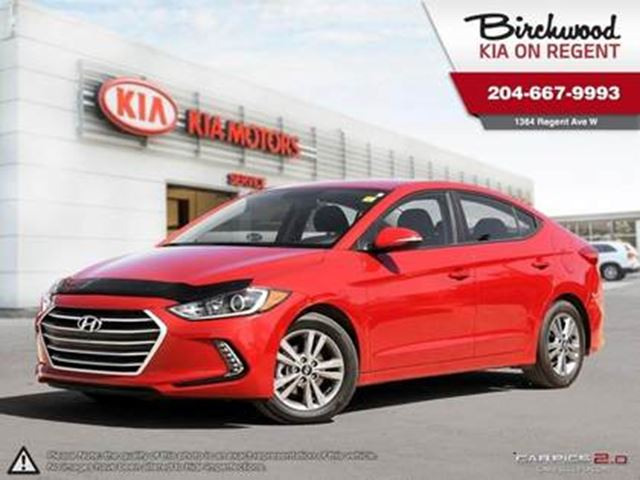 2017 HYUNDAI ELANTRA GL **JUST ARRIVED AND GETTING READY FOR YOU!! in Winnipeg, Manitoba