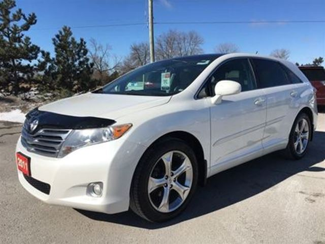 2011 TOYOTA VENZA Premium AWD V6 - One-Owner / Dealer Certified in Stouffville, Ontario