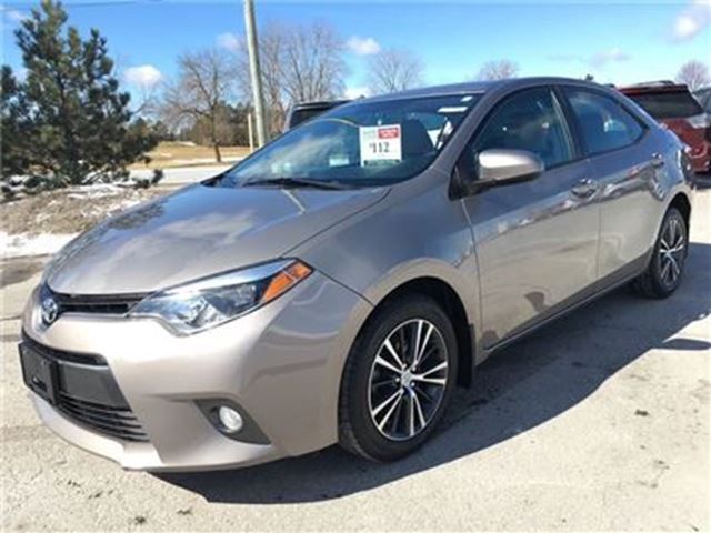 2016 TOYOTA COROLLA LE Upgrade - No Accidents / TCUV / Off-Lease in Stouffville, Ontario