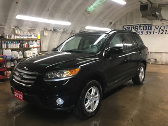 2012 Hyundai Santa Fe GLS*3.5 V6*4WD*PHONE CONNECT*HEATED FRONT SEATS*CL in Cambridge, Ontario