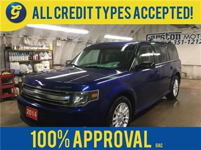 2014 Ford Flex SEL*AWD*POWER SUNROOF*LEATHER*NAVIGATION*BACK UP C in Cambridge, Ontario
