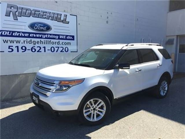 2015 Ford Explorer XLT  NAV  LEATHER  POWER GATE in Cambridge, Ontario