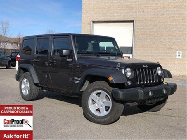 2014 JEEP WRANGLER Unlimited SPORT**POWER CONVENIENCE GROUP**A/C** in Mississauga, Ontario