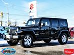2013 Jeep Wrangler Unlimited Sahara ~Navigation ~Alpine Audio in Barrie, Ontario