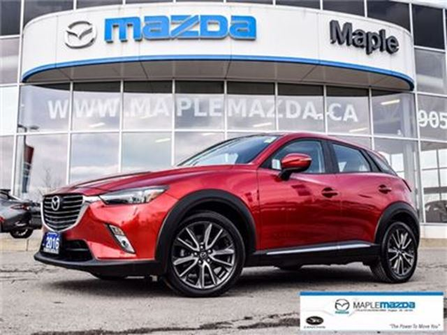 2016 Mazda CX-3 GT, Awd, Leather, Navi, Sunroof in Vaughan, Ontario