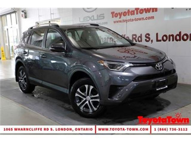 2016 TOYOTA RAV4 LE HEATED SEATS BACKUP CAMERA REMOTE START in London, Ontario