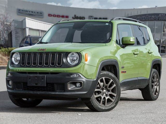 2016 JEEP RENEGADE North, 4X4, TRADE IN, ONE OWNER in Mississauga, Ontario
