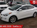 2013 Hyundai Elantra Limited; NAV, LEATHER, SUNROOF, HEATED FRONT AND REAR SEATS, PUSH START, BACKUP CAMERA, AUX, in Edmonton, Alberta