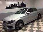 2015 Mercedes-Benz C-Class C400 4MATIC Intelligent Drive Sport AMG Leather+ in Calgary, Alberta