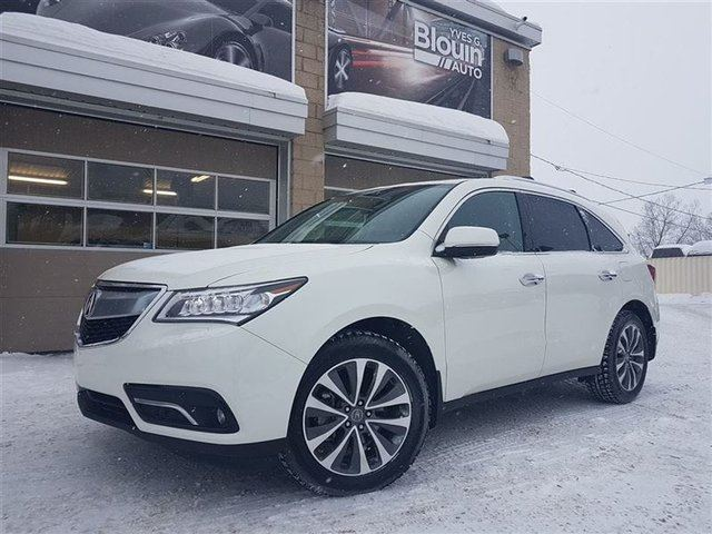 2016 ACURA MDX Navigation Package in Sainte-Marie, Quebec
