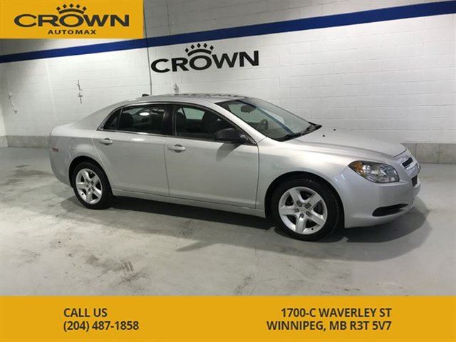 2012 CHEVROLET MALIBU LS **Extremely Low Kms** No Accidents** Great Cond in Winnipeg, Manitoba