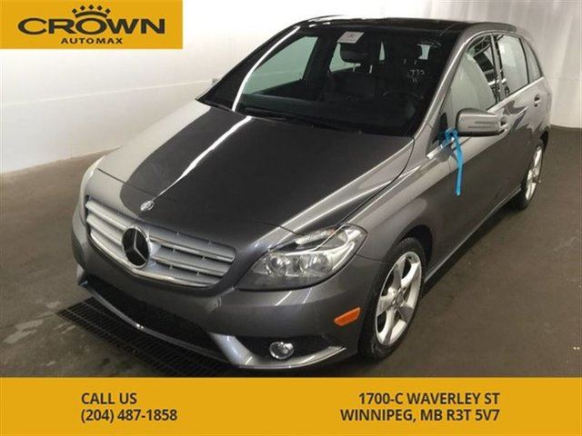 2014 MERCEDES-BENZ B-CLASS B-250 ** No Accidents** Backup Camera** Panoramic in Winnipeg, Manitoba