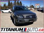 2015 Volkswagen Tiguan Comfortline Sport+4Motion+Camera+Pano+Leather+Xeno in London, Ontario