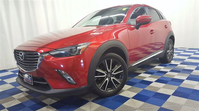 2016 MAZDA CX-3 GT AWD/ACCIDENT FREE/LEATHER/SUNROOF/REAR CAM in Winnipeg, Manitoba