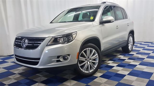 2009 VOLKSWAGEN TIGUAN 2.0T Comfortline AWD/ACCIDENT FREE/LEATHER/SUNR in Winnipeg, Manitoba