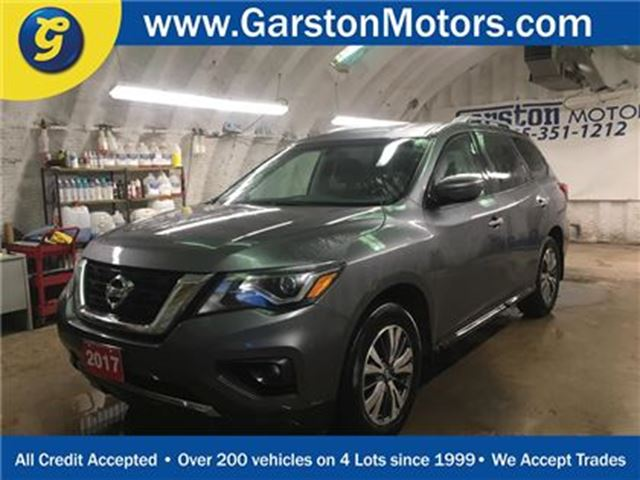 2017 Nissan Pathfinder SV*4WD*BACK UP CAMERA*7 PASSENGER*PHONE CONNECT*HE in Cambridge, Ontario