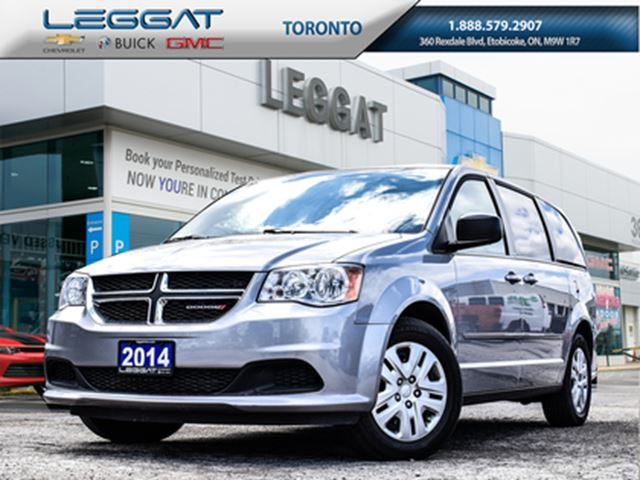 2014 DODGE Grand Caravan SE(LOAD UP THE WHOLE FAMILY AND ENJOY!) in Rexdale, Ontario