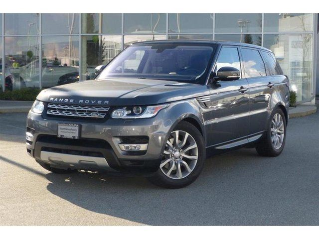2016 LAND ROVER RANGE ROVER Sport Diesel Td6 HSE in North Vancouver, British Columbia