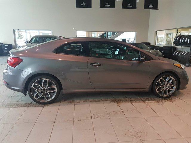 2015 KIA FORTE Koup SX - B/U Cam, Bluetooth + Media Inputs! in Red Deer, Alberta
