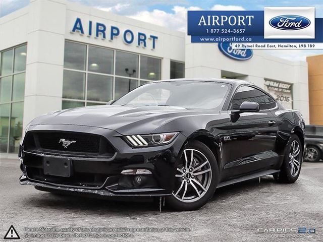 2015 FORD Mustang GT 5.0L Premium with Roush exhaust in Hamilton, Ontario