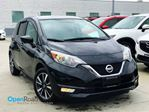 2017 Nissan Versa SL A/T HB No Accident Local One Owner Blueooth  in Port Moody, British Columbia
