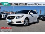 2012 Chevrolet Cruze LT Turbo/1-OWNER/CLN HSTRY/BLUTH/6-SPKR in Milton, Ontario