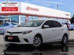2014 Toyota Corolla CE One Owner, No Accidents, Toyota Serviced in London, Ontario