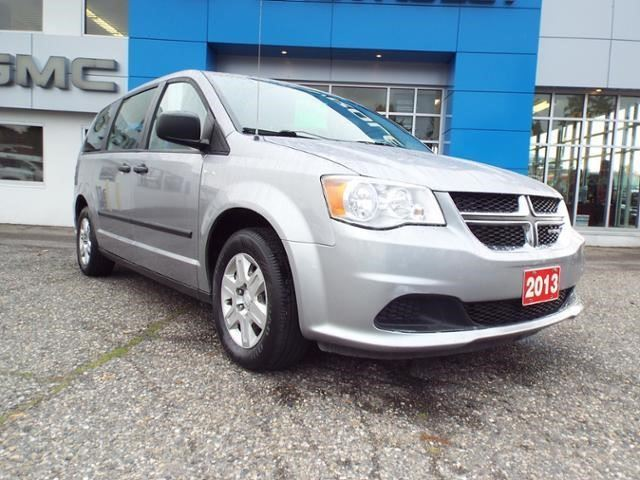 2013 DODGE GRAND CARAVAN SE in Quesnel, British Columbia