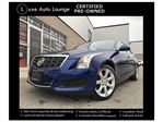 2014 Cadillac ATS RARE!! 2.0 TURBO 6-SPEED MANUAL! BOSE AUDIO, SATELLITE RADIO, POWER HEATED SEATS, LUXE CERTIFIED PRE-OWNED! BALANCE OF GM WARRANTY! in Orleans, Ontario