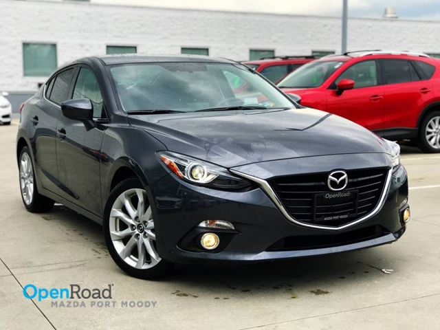 2016 MAZDA MAZDA3 GT Sdn A/T No Accident Local One Owner Bluetoot in Port Moody, British Columbia