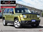 2012 Jeep Patriot ONLY 124K! **CLEAN CARPROOF** ONE OWNER **MINT** in Scarborough, Ontario