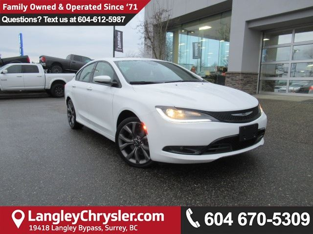 2015 CHRYSLER 200 S in Surrey, British Columbia