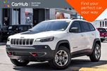 2019 Jeep Cherokee NEW CAR Trailhawk 4x4 Comfort&Convi.,ColdWthr,SafetytecPkgs Nav  in Thornhill, Ontario