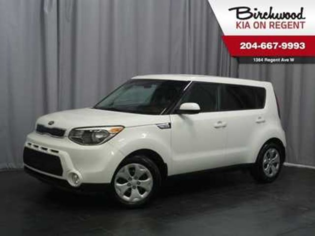 2016 KIA SOUL LX **Jut arrived and ready for you to take home!! in Winnipeg, Manitoba