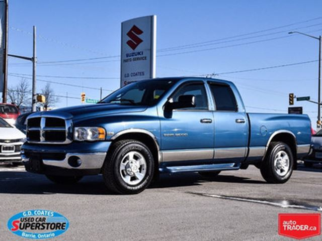 2003 DODGE RAM 2500 SLT in Barrie, Ontario