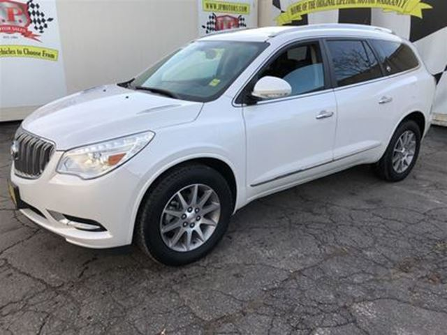 2016 BUICK ENCLAVE Auto, Leather, Sunroof, 3rd Row Seating, AWD in Burlington, Ontario