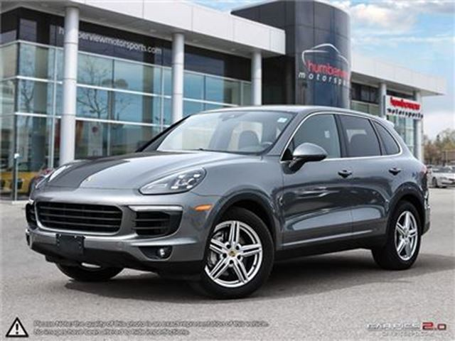 2017 PORSCHE CAYENNE S   AWD   TWIN TURBO   CAR-PROOF CLEAN   NAVI   CA in Mississauga, Ontario