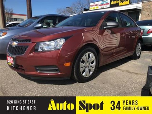 2013 CHEVROLET CRUZE LS/PRICED FOR A QUICK SALE! in Kitchener, Ontario